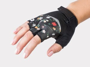 Bontrager Glove Anara Women X-Small Black Flower